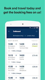 thetrainline – times & tickets- screenshot thumbnail