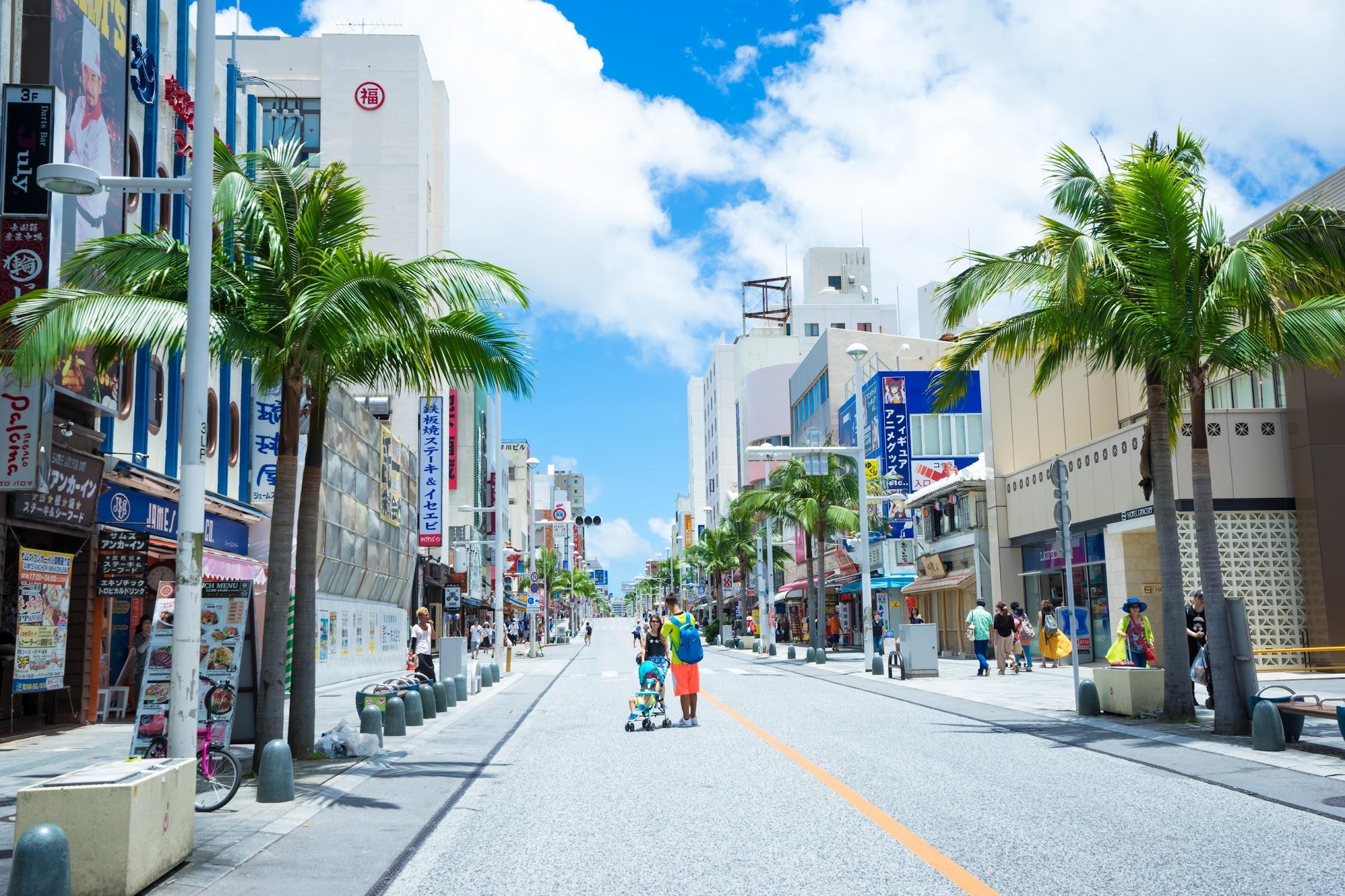 Okinawa Naha Kokusai street1