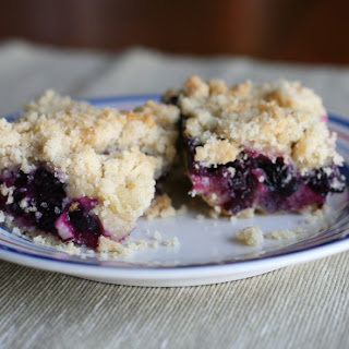 Best Blueberry Crumb Cake ever – with a bit of Rhubarb