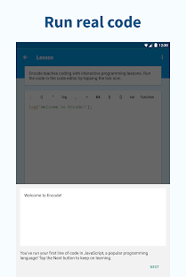 Encode: Learn to Code- screenshot thumbnail