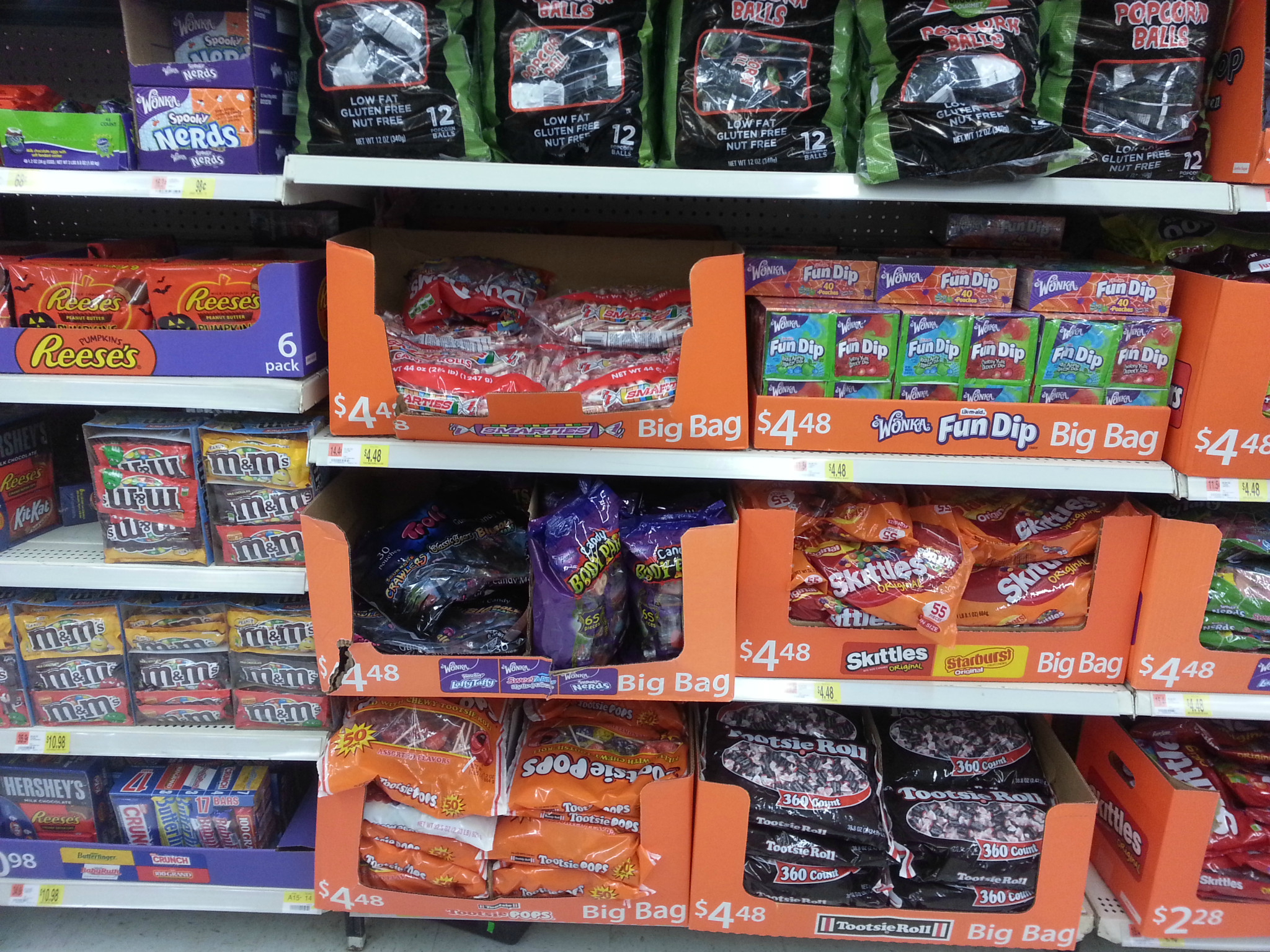 Photo: A pregant lady can't go into a store without finding the candy isle.