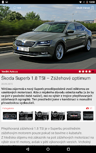 Auto.cz- screenshot thumbnail