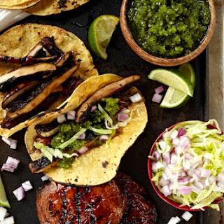 Portobello Mushroom Tacos.
