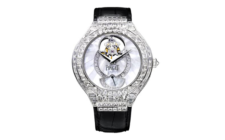 Piaget Polo Tourbillion set with diamonds, POR.
