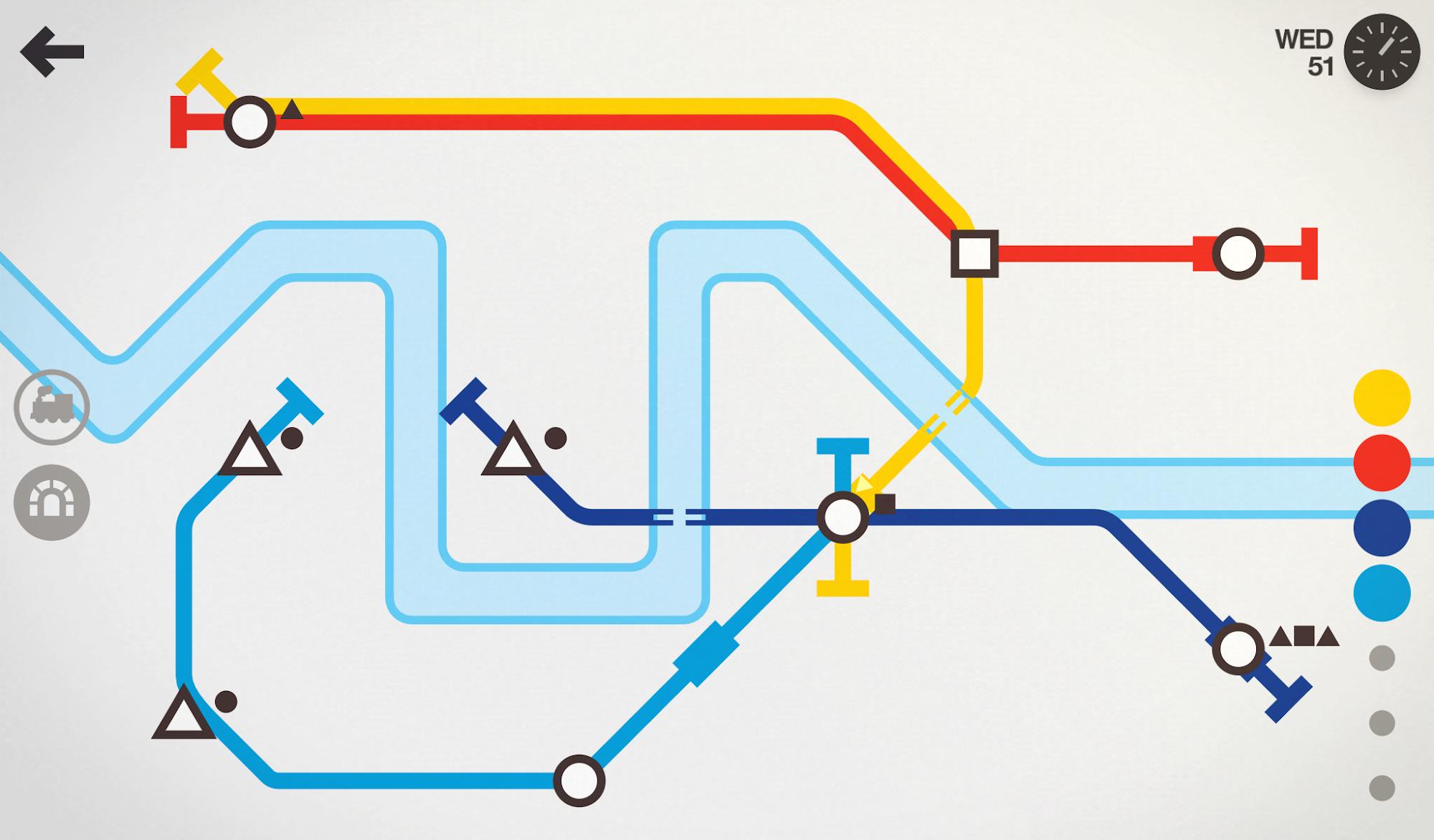 Mini Metro screenshot #2