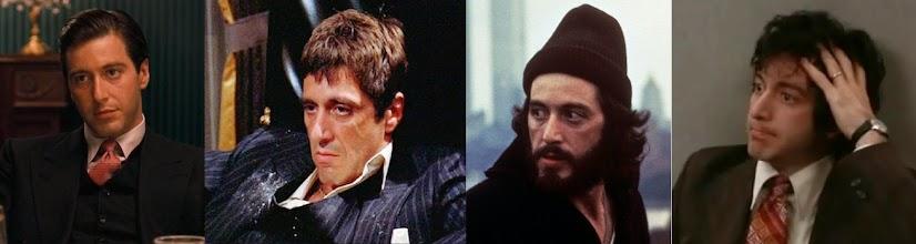 """Photo: As várias faces de Al Pacino: """"O Poderoso Chefão II"""", """"Scarface"""", """"Serpico"""" e """"Um Dia de Cão"""""""