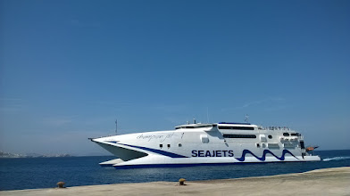Photo: Mykonos - Santorini, 2h45', 60 euro