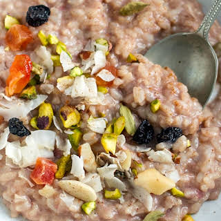 Chai Spiced Instant Pot Rice Pudding.