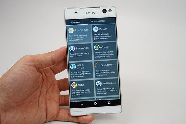 Màn hình lớn mang lại cho Xperia C5 Ultra độ hiển thị sắc, chi tiết cao