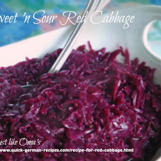 Recipe for Red Cabbage