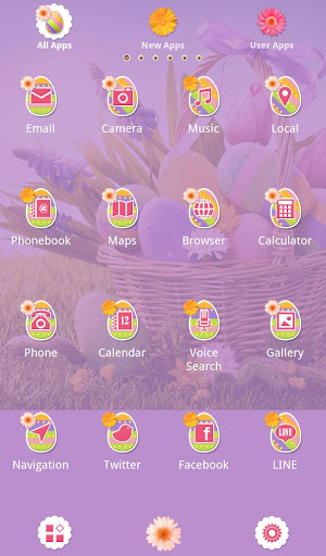 Cute Theme-Happy Easter!- 1.0.0 Windows u7528 3