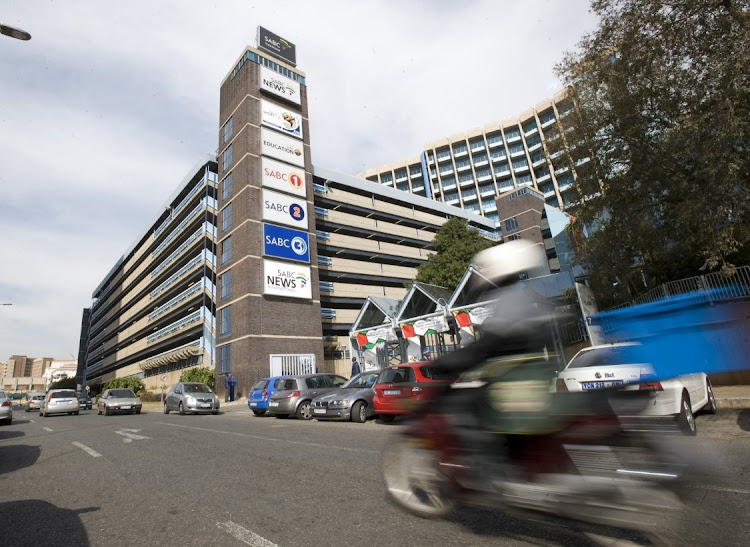 The SABC building in Auckland Park, Johannesburg. Picture: BUSINESS DAY