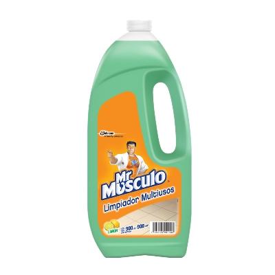 limpiador mr musculo multiusos limon 900ml