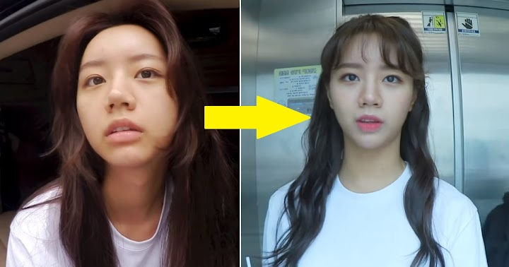 Hyeri Reveals Complete Before And After Makeup Transformation - Koreaboo