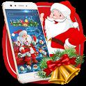 Cute Santa Christmas Theme icon