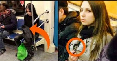 20+ Of The Weirdest People Ever Spotted Riding On The Subway