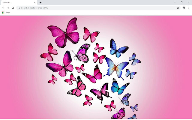Butterfly Wallpapers and New Tab
