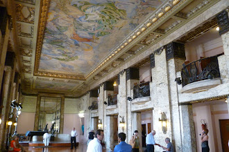 Photo: Opéra MARSEILLE. Foyer. Foto: Dr. Klaus Billand