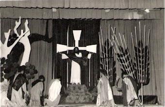 Photo: La Siega (Auto Sacramental). Foto que envía el P. Eliseo Rodríguez.