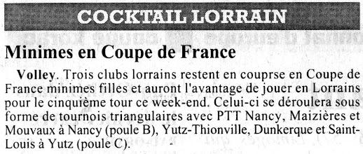 Photo: MF 4è tour de coupe de France contre Dunkerque et Saint-Louis