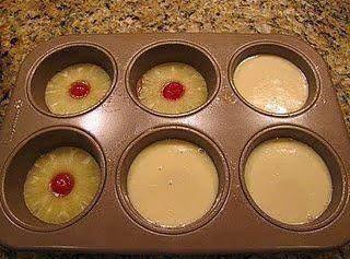 Mini Upside Down Cakes