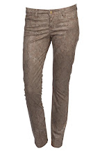 Photo: Pantalon Slim ACQUAVERDE, Motif serpent - Mode BE