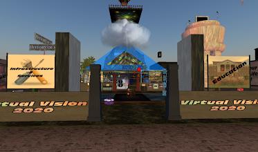 Photo: Virtual Vision 2020 = http://maps.secondlife.com/secondlife/Hoedown/113/104/22