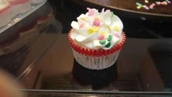 My Version White Wedding Cake Or Cupcake - Recipe