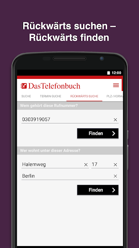 Das Telefonbuch with caller ID and spam protection 6.3.1 screenshots 5