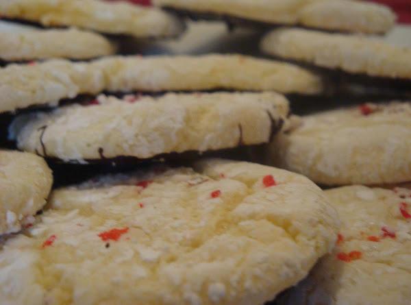 Peppermint Bark Snowflake Cookies Recipe