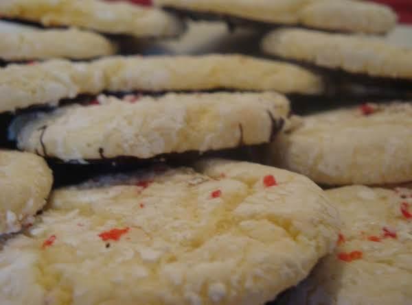Peppermint Bark Snowflake Cookies.