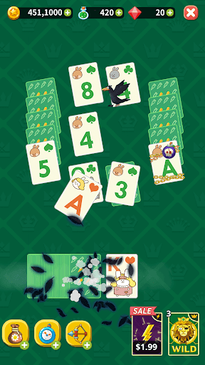 Solitaire Tripeaks Tower: Theme Solitaire  screenshots 7