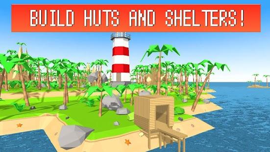 Pixel Island Survival 3D imagem 4