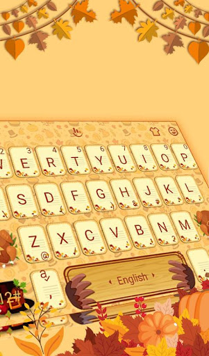 Download Happy Thanksgiving Keyboard Theme MOD APK 1