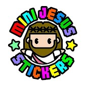 Mini Jesus Stickers