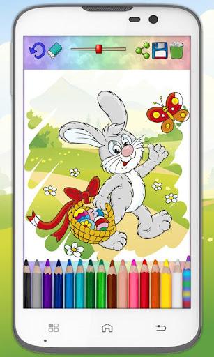 Magic paint Easter egg