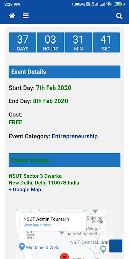 TheFestFever - All Delhi college events at 1 place 1.0 screenshots 4