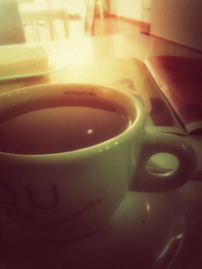 buenos días con el té rojo