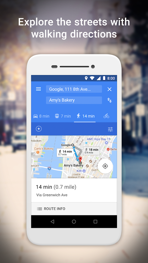 Google Maps Go - Directions, Traffic & Transit- screenshot
