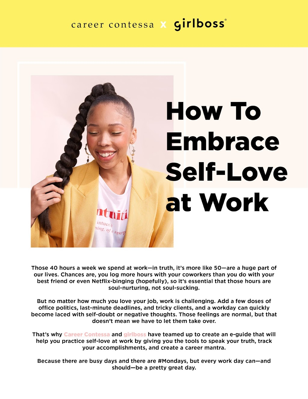 Resource How To Embrace Self Love At Work