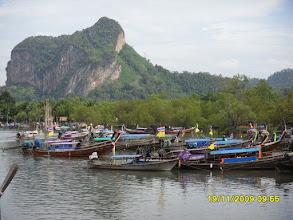 Photo: Der Hafen an der Mündung des Klong Son Fluss
