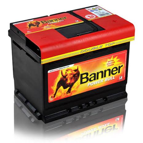Startbatteri Banner PB12V/62Ah