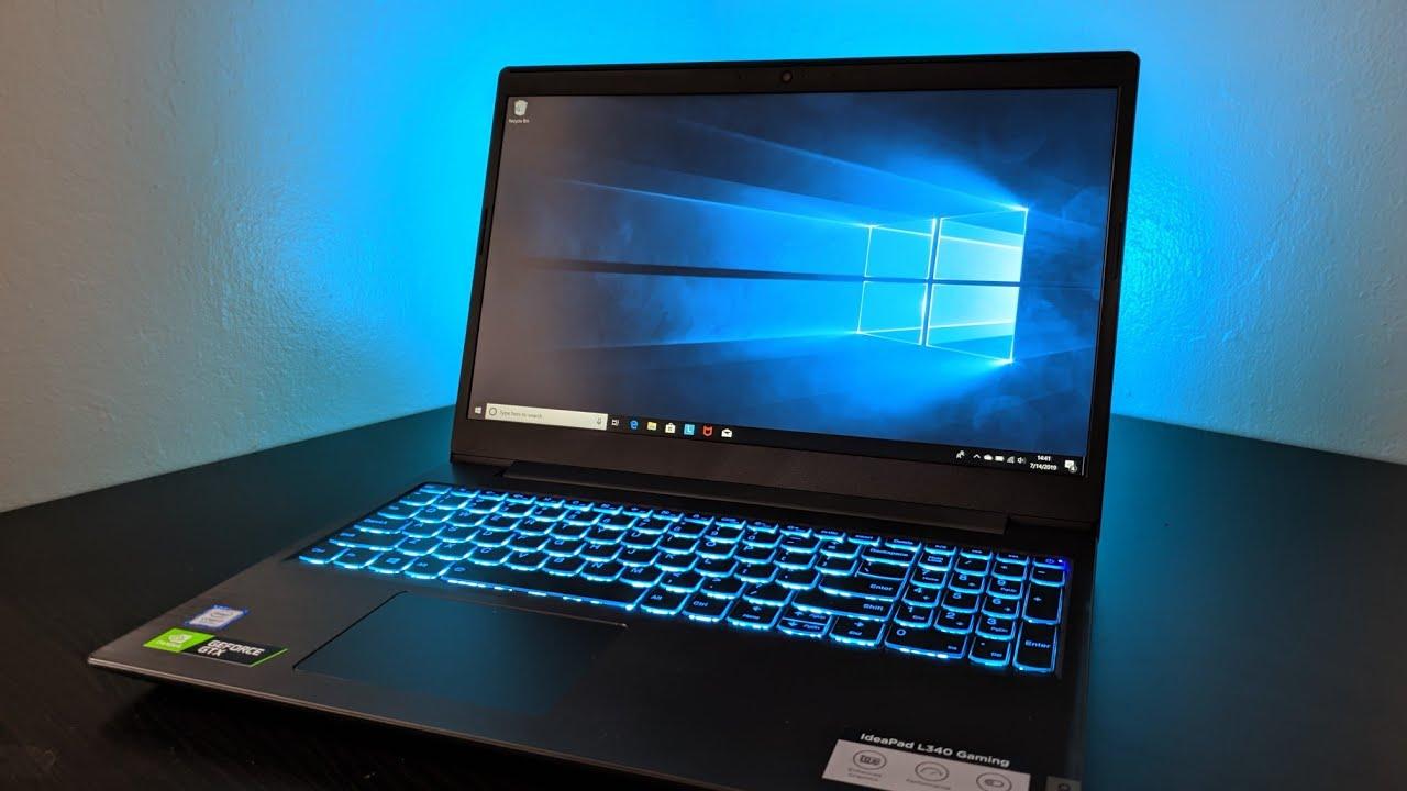 Imagem do Notebook para programar do modelo Lenovo Ideapad L340