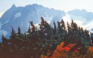 Photo: 27. Magic Mountain from near Cascade Pass.
