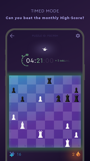 Tactics Frenzy u2013 Chess Puzzles modavailable screenshots 4
