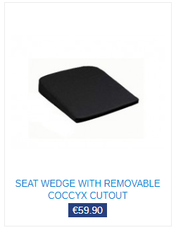 seat wedge for homeworkers back pain