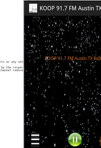 KOOP 91.7 FM Austin TX Radio