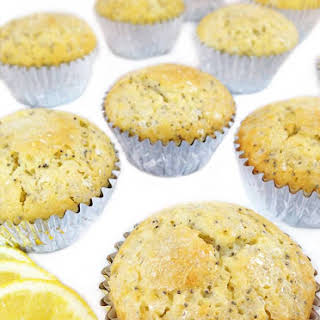 Bakery Lemon and Poppy Seed Muffins.