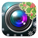 Christmas Camera Effect icon