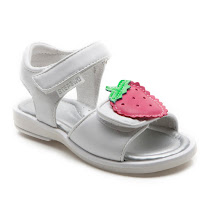Step2wo Strawberry - Hook and Loop Sandal SANDAL